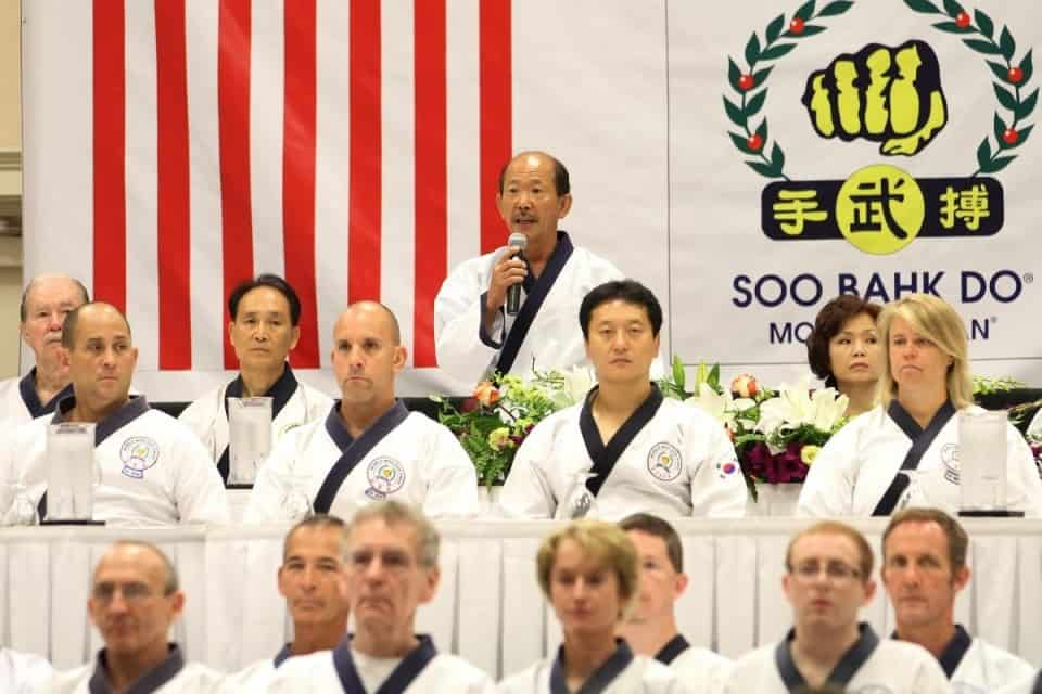 Kwan Jang Nim Addresses Festival Participants