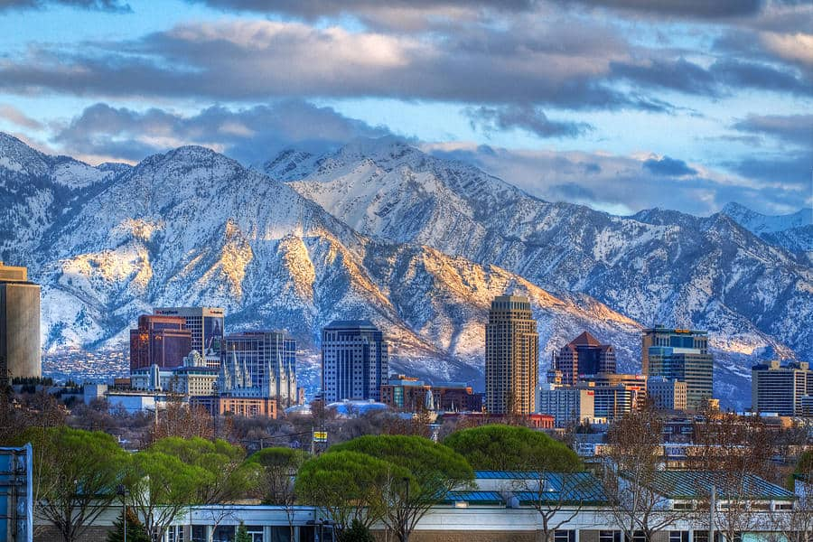 Salt Lake City, Utah has alot of great attractions for retirees