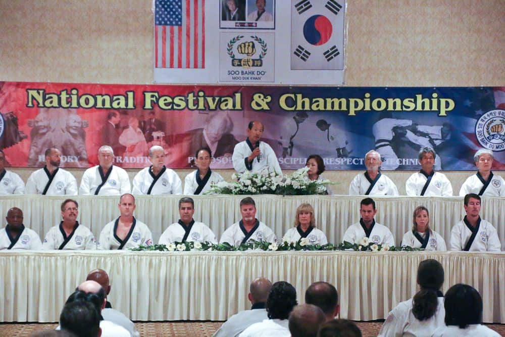 Saturday Opening Ceremonies For Gup And Dan Competition